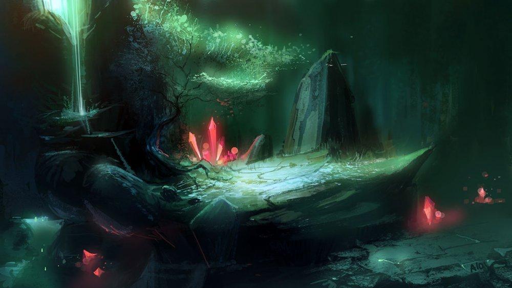 Кристальная подземная Раиланды.
